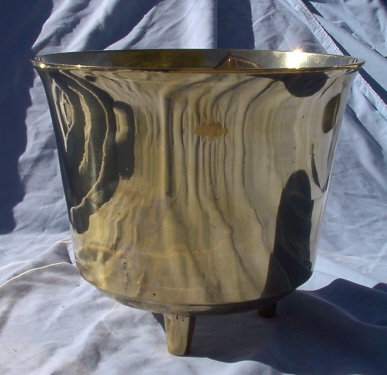 #6 Brass Drum Kettle