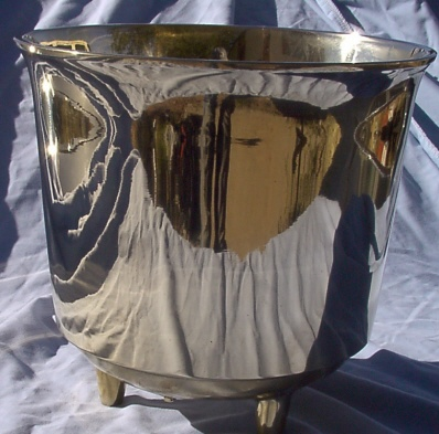 #7 Brass Drum Kettle