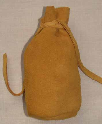 Deer Skin Leather Tobacco Bag
