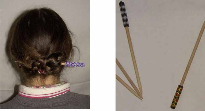 Adult Single Hair Stick larger image